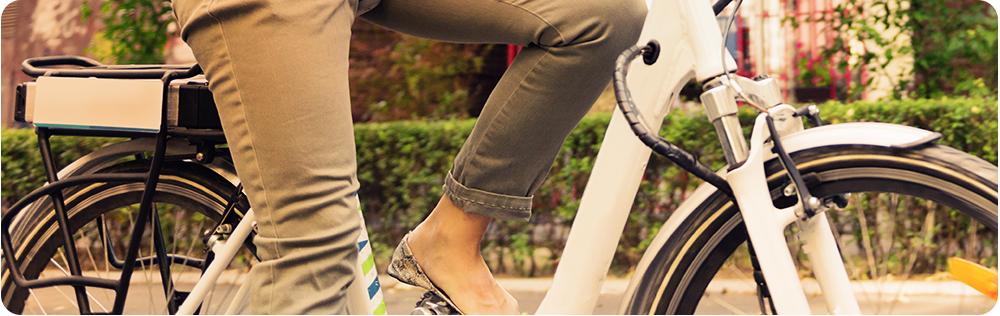 E-bike fiets snel