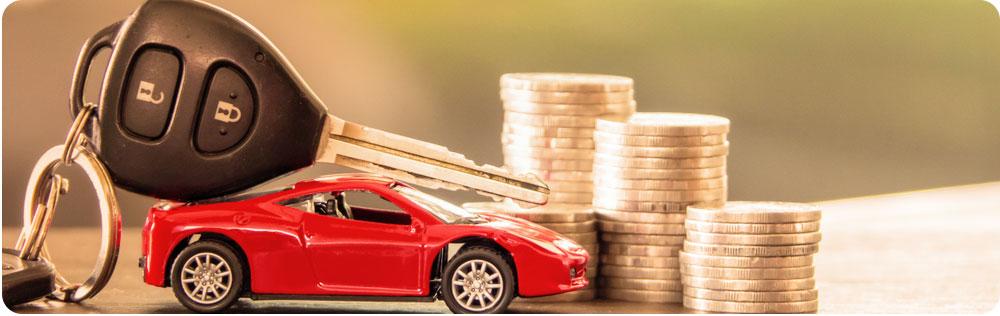 Maandelijkse kosten auto