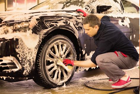 Auto wassen en poetsen
