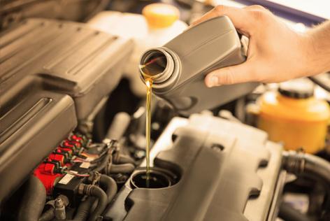 Hoeveel olie in de auto?