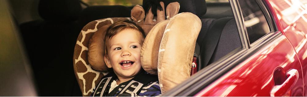 kind vervoeren auto