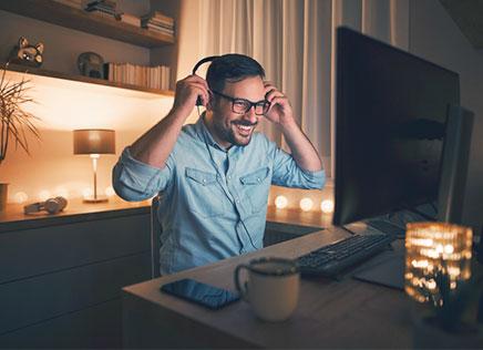 Energie besparen met thuiswerken