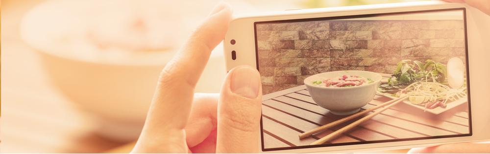 Fotorgaferen met smartphone