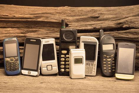 ontstaan mobiele telefoon