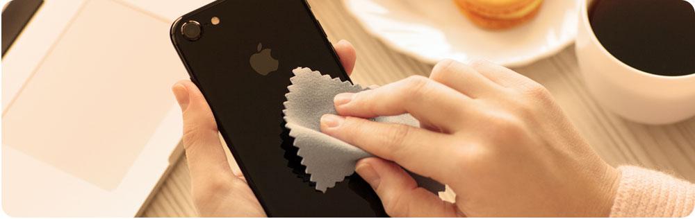 Smartphone schoonmaken header
