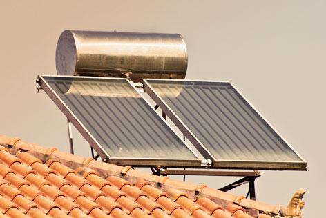 vlakke plaat zonnecollector