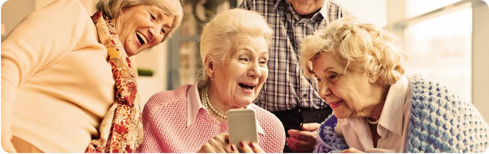 Senioren smartphones
