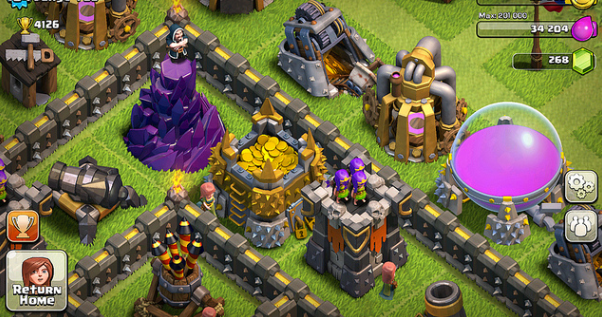 Android Games: Clash of Clans