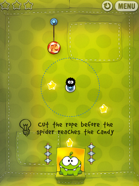 iOS games: Cut the Rope