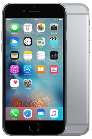 iphone S6 grijs