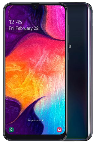 Samsung Galaxy A50 zwart