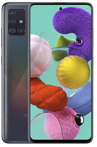 Samsung Galaxy A51 zwart