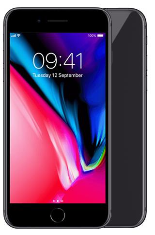 iphone 8 grijs