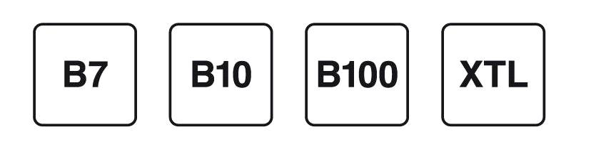Sticker Brandstoffen Diesel