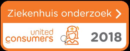 UnitedConsumers Ziekenhuisonderzoek 2018