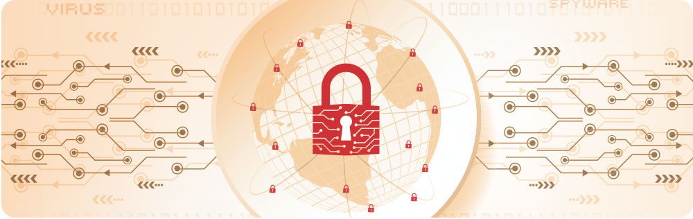 Internet veiligheid banner