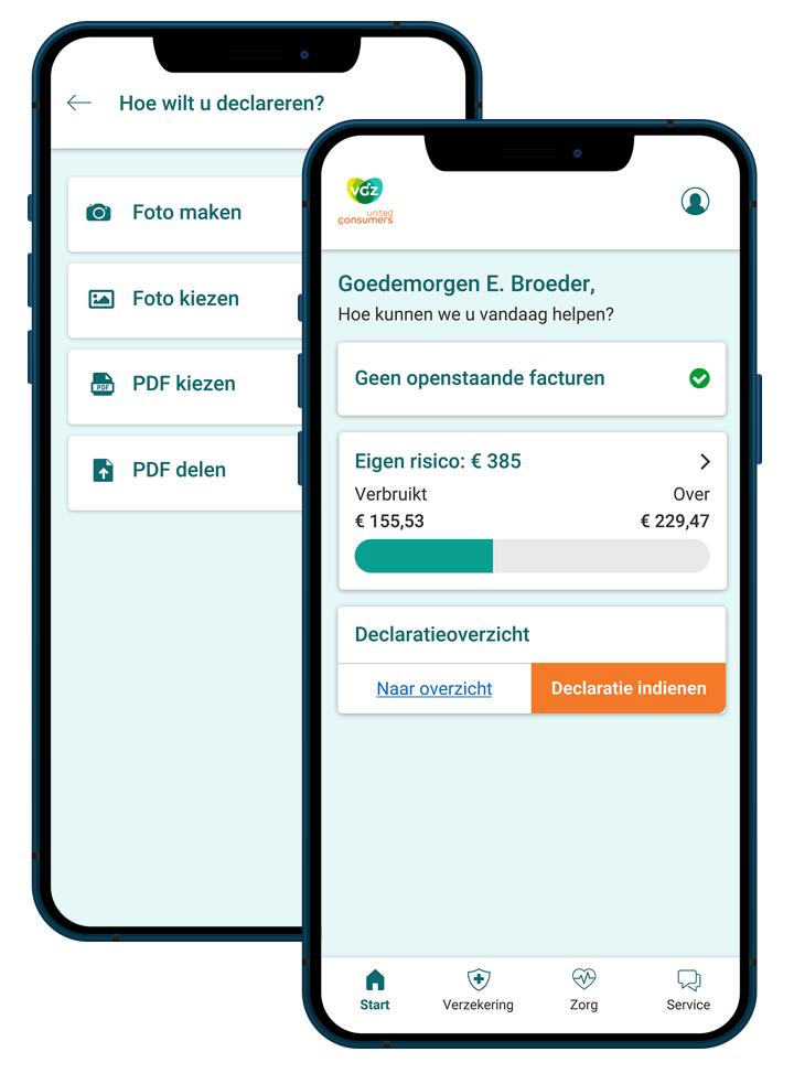 UC Zorg App-sfeer